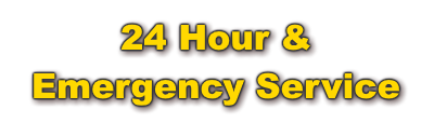 24 Hour & Emergency Service
