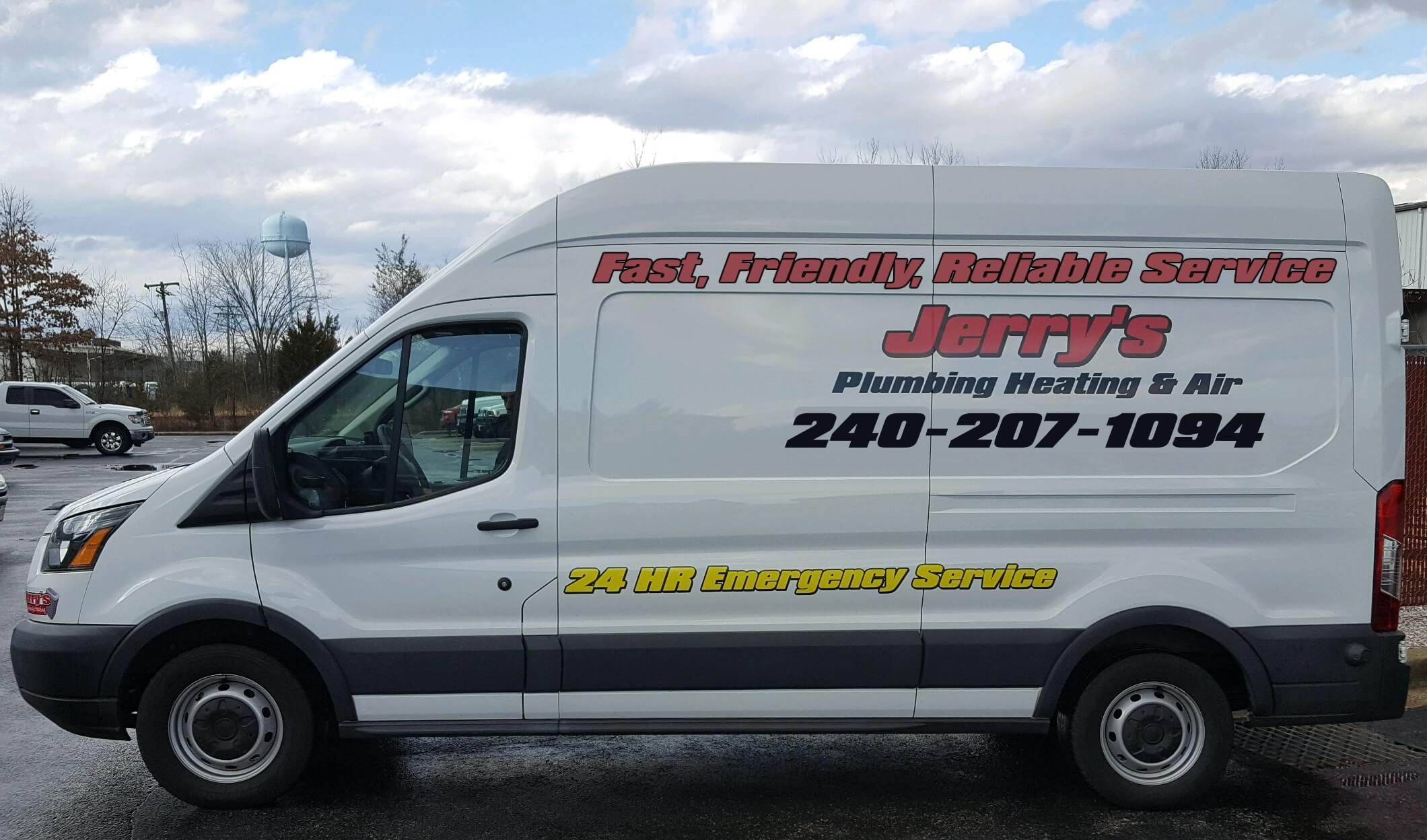 24 hr plumbing, heating and air services - jerry's plumbing, heating