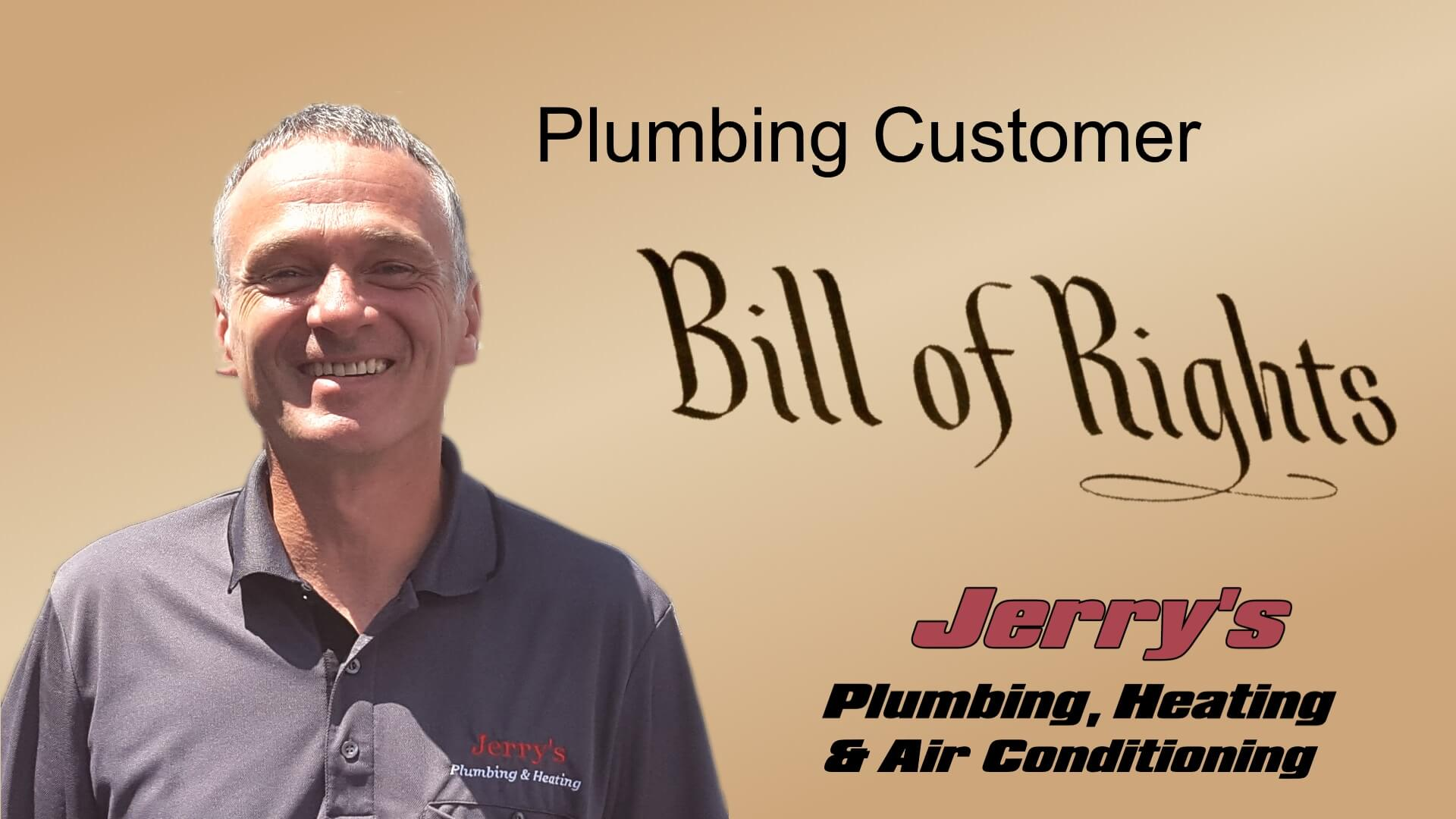Plumbing Customer Rights Jerry S Plumbing Heating And Air